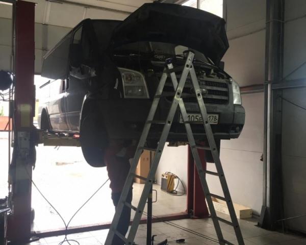 Замена цепи ГРМ и роликов на Ford Transit 2009 г.в. в СТО Кубавто